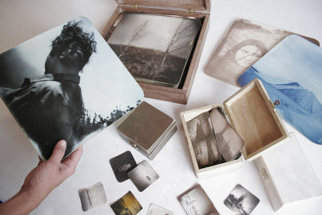 the memory boxes